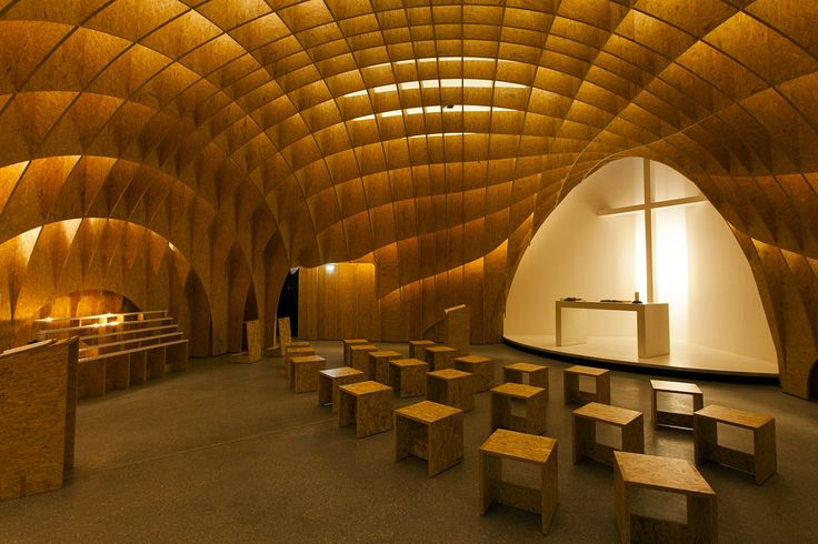 ERCO - Descubrir la luz - Contemplation - Iglesia en la autopista Siegerland