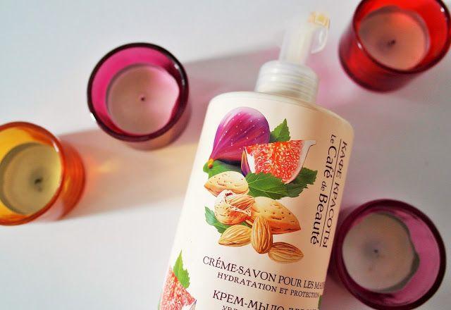 Make-Life-Green: Kosmetyczni Ulubieńcy - Kremowe mydło z figą i słodkim migdałem firmy Le Cafe De Beaute