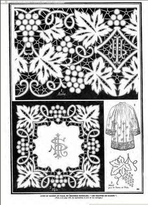РИШЕЛЬЕ. Альбом старинных узоров для точечной росписи « АртМарин. Красивые вещи своими руками.