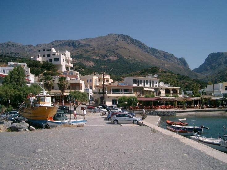 Hafen von Plakias auf Kreta (Crete)