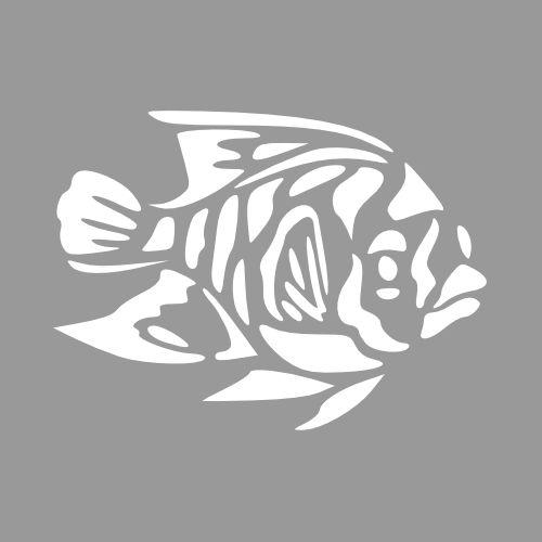 Sjabloon vis - Maak op maat en bestel