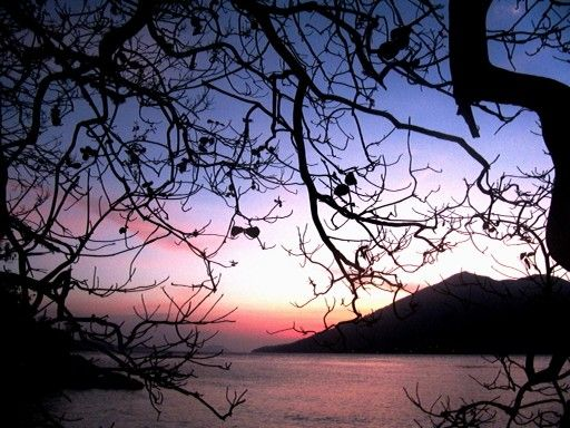 Sunset, Kepa island, Alor Solor - Indonesia