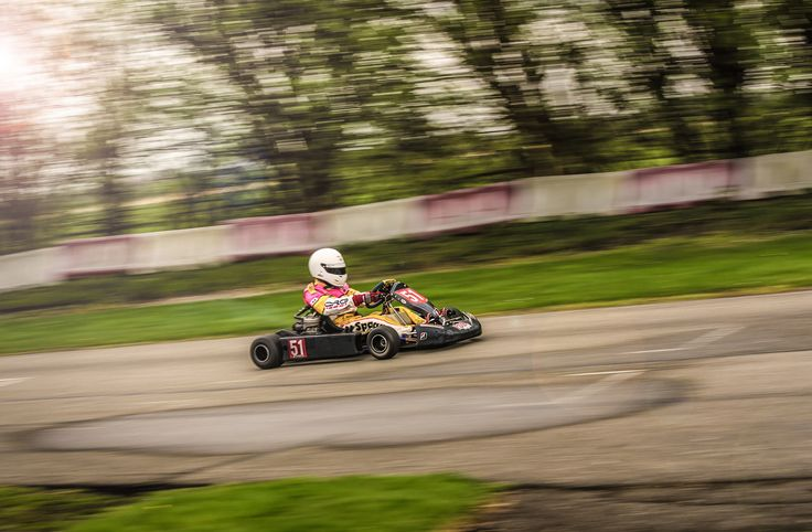 Circuit of Strijen, located in the west of Holland. An old kart circuit which is famous for it's short length (650m) and it's technical lay-out.   Driver: Mariëlle Westerwaal (Mach1/Komet K25)  Photo: Christiaan Spaan photography ©2016