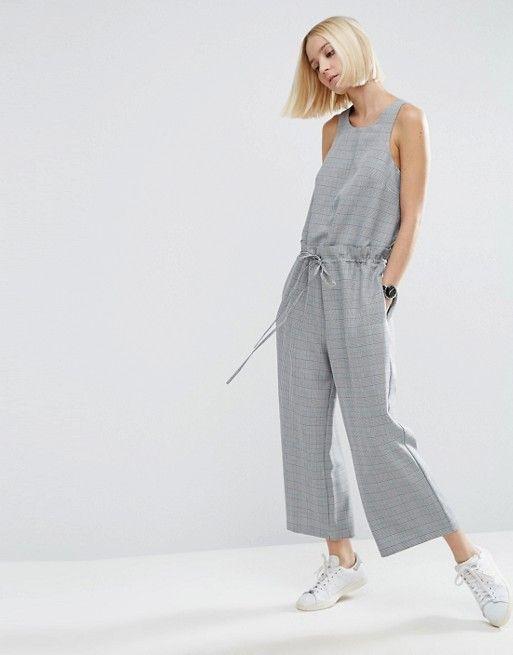 Grey jumpsuit // ASOS