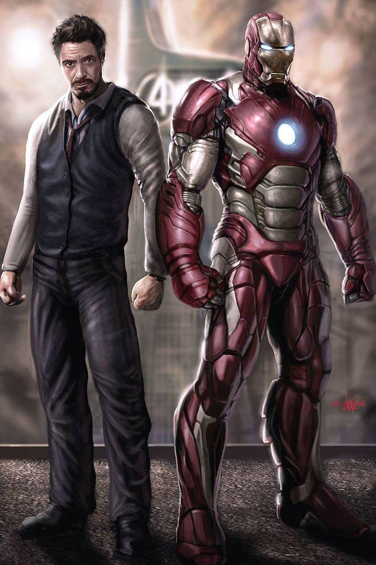 Tony Stark-Iron Man...........