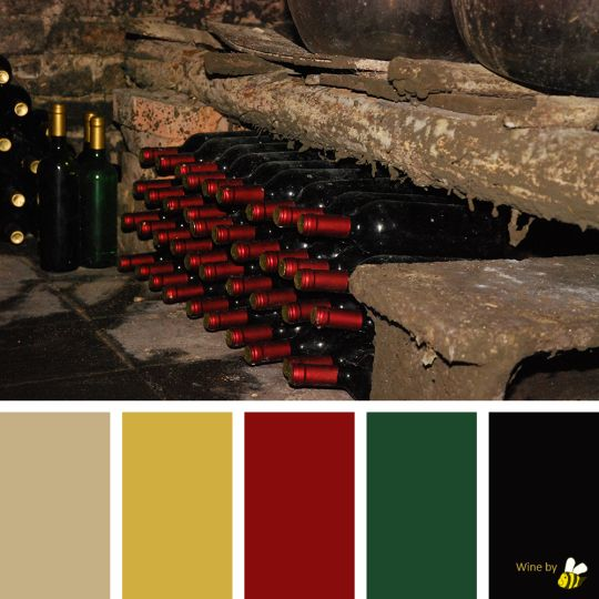 Wine palette by BeeBox (ONLY FOR PERSONAL USE!)