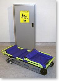 Garaventa Evacu-Trac Evacuation Chair Cabinet Contact Evacuation Chairs Australia: www.evacuationchairs.com.au  Bus: +61 3 9001 5806   1300 669 730