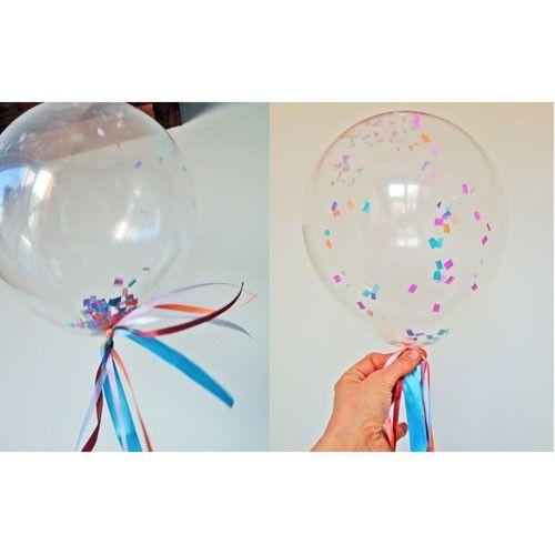 Transparante ballonnen Clear
