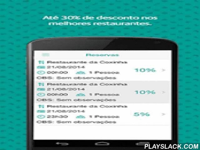 Groubie  Android App - playslack.com ,  O Groubie é um aplicativo gratuito, que une duas paixões dos brasileiros: comer fora e descontos. Através de uma interface intuitiva, ele te ajuda a fazer reservas sem custo algum nos melhores restaurantes da sua cidade, além de garantir ótimos descontos na sua conta. Entre no App, escolha o restaurante que mais combina com você, marque a data, veja os horários disponíveis e confirme sua reserva, totalmente gratuita. Características do Groubie…