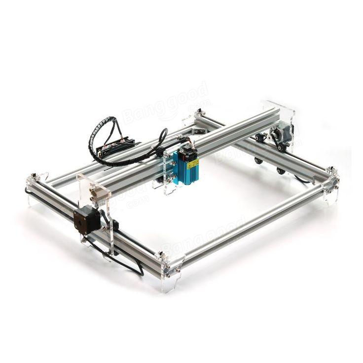 EleksMaker® EleksLaser-A3 Pro 2500mW Laser Engraving Machine CNC Laser Printer Sale - Banggood.com  #electronics #tools #laser