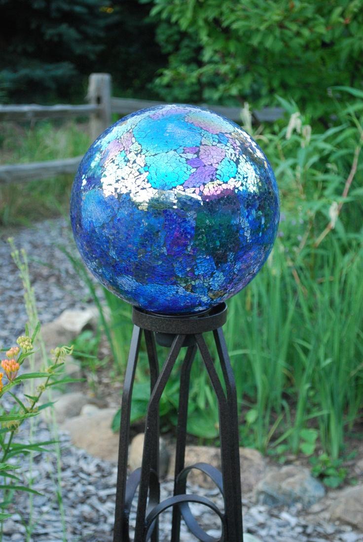 129 best Gazing Balls images on Pinterest Garden globes Yard