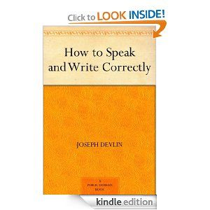 16 best great ebooks to learn english images on pinterest learn how to speak and write correctly in english fandeluxe Gallery