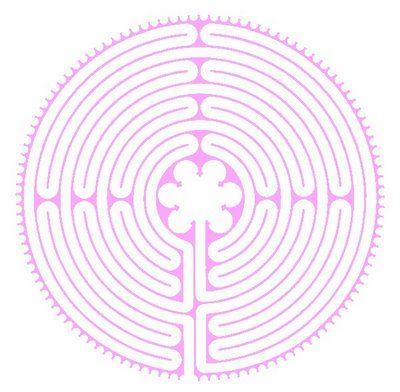 """Finger labyrinth printables from Rainbow Mama. Print it out and pray as your """"walk"""" it with your finger!"""