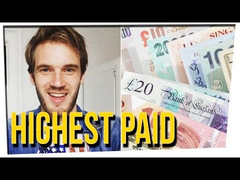 Who Are The Top 10 Highest Paid YouTubers? Ft. David So | Justkiddingnews