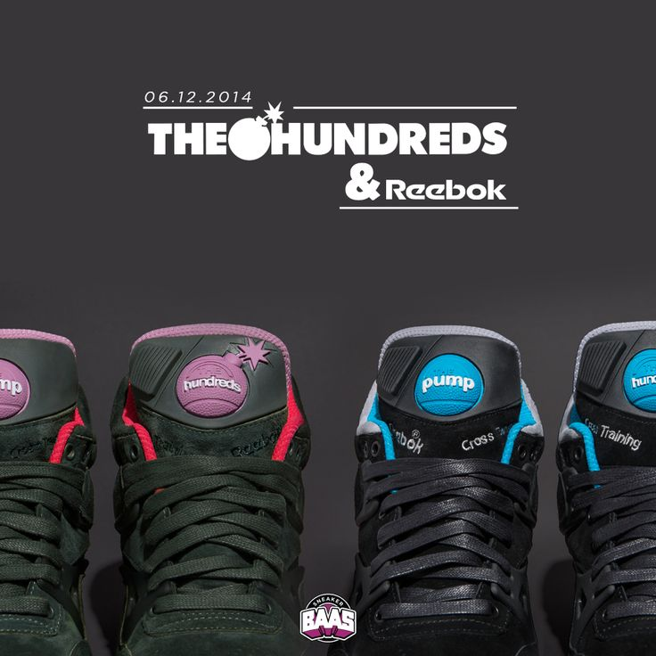 6th of December @Sneakerbaas, The Hundreds x Reebok AXT Pump! | Very Limited! | Link Sneakers: http://bit.ly/hundredspump | #sneakerbaas #bovenbaasboven #Hundreds #Reebok #Pump