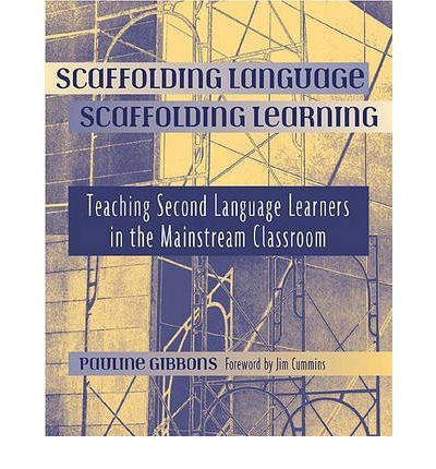Scaffolding Language, Scaffolding Learning: How does a mainstream elementary classroom teacher with little or no specialized ESL training meet the challenge of teaching linguistically diverse students? Pauline Gibbons suggests how: integrate the teaching of English with the content areas of the regular curriculum. What's more, she shows how in this practical resource book.