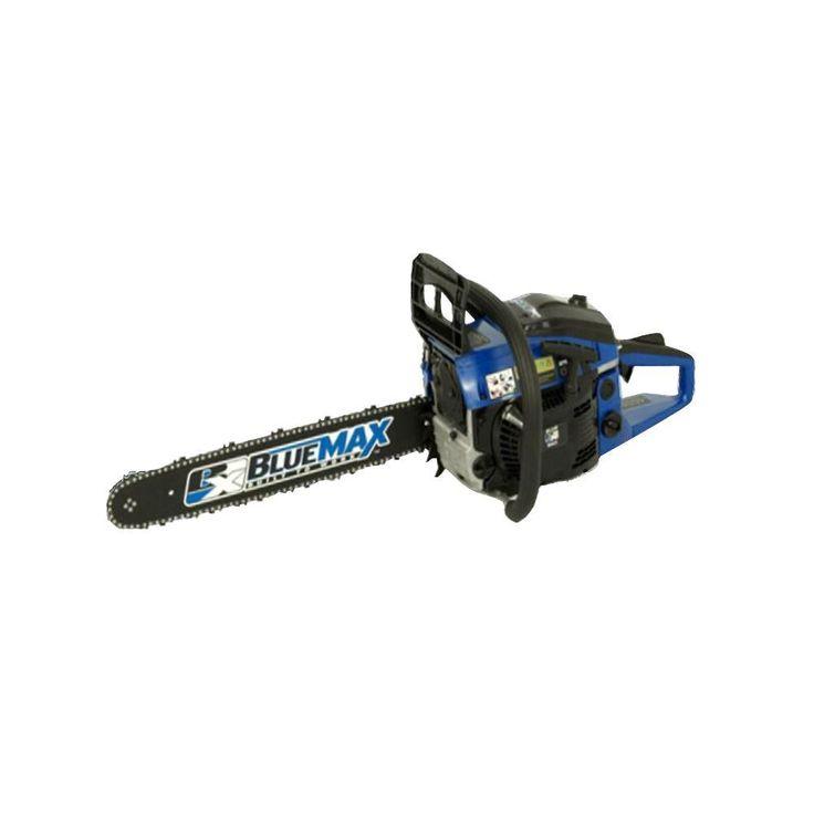 blue max 18 in 45cc heavy duty gas chainsaw
