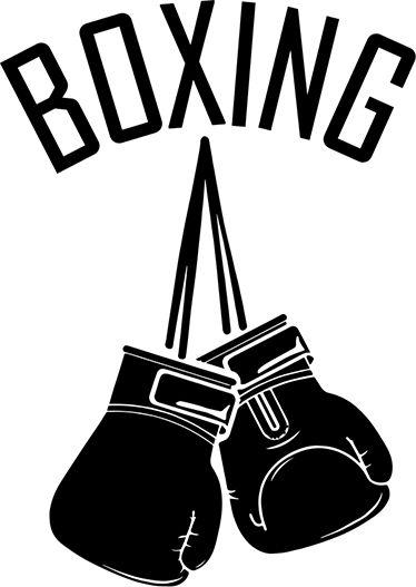 Vinilo decorativo guantes de boxeo
