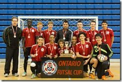 It was an exciting day of Futsal at Durham College on Saturday, February 15. The Ontario Futsal Cup was held along with two training sessions and a Men's Showcase game. The Ontario Futsal Cup featured the Under 16 Boys division where four teams battled ...