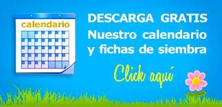 Descarga el calendario de siembras