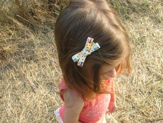 Hair bow alligator clips  Bow tie alligator clips  by Chrisin, €4.00