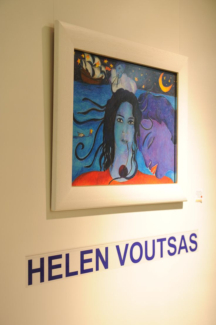 "Opening Night of Helen Voutsas Solo Exhibition ""The Butterfly finds the way""- 07 March 2014 - ends 30 April 2014."