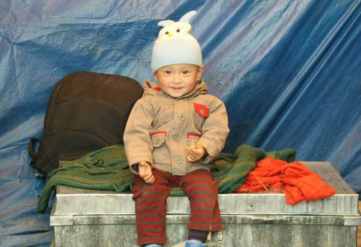 Little Ladkhi friend #Ladakh #India #Travel