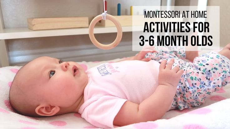 Montessori at home activities for babies 36 months