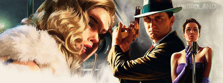 Rockstars open-world crime thriller LA Noire comes to PS4 in November
