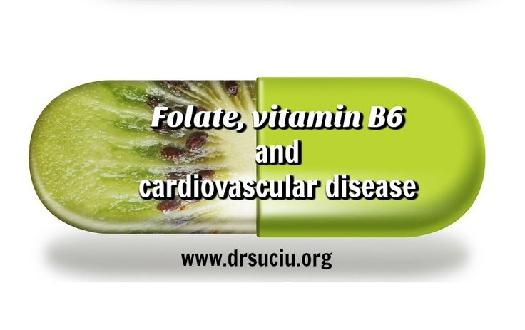 Picture drsuciu Folate, vitamin B6 and cardiovascular disease