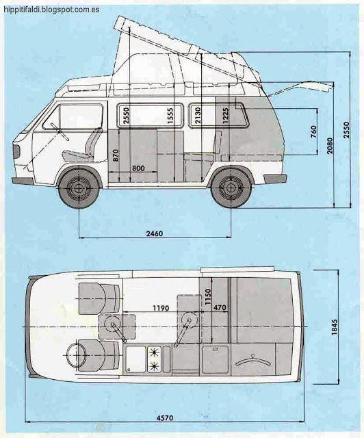 Las 25 mejores ideas sobre campistas de casa rodante en for Set completo di piani casa pdf