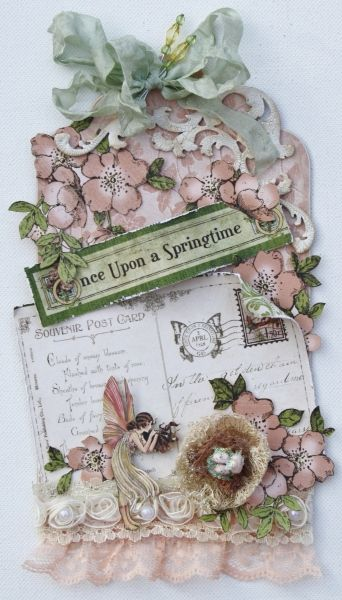 Graphic 45 Once Upon a Springtime Tag