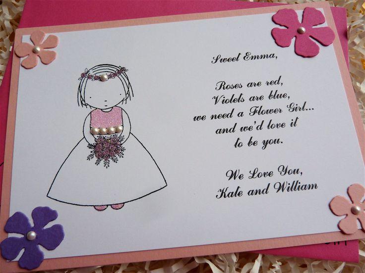 Best 25 Flower Girl Invitation Ideas On Pinterest Wedding List