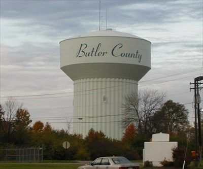 ohio water tower's | ... Fluted Column Tank - West Chester, OH - Water Towers on Waymarking.com