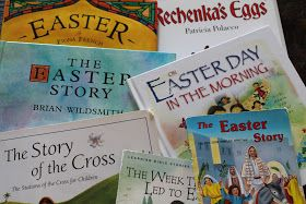 A blog for my mom: Our Holy Week & Easter Book Basket