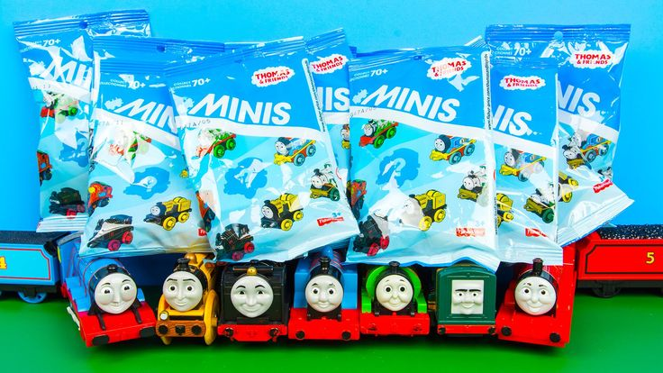 Thomas and Friends Minis Blind Bag Surprise Figures by Fisher-Price