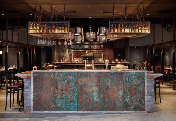 мебель-промышленный-ресторан-Рода-гонконгской-счетчик