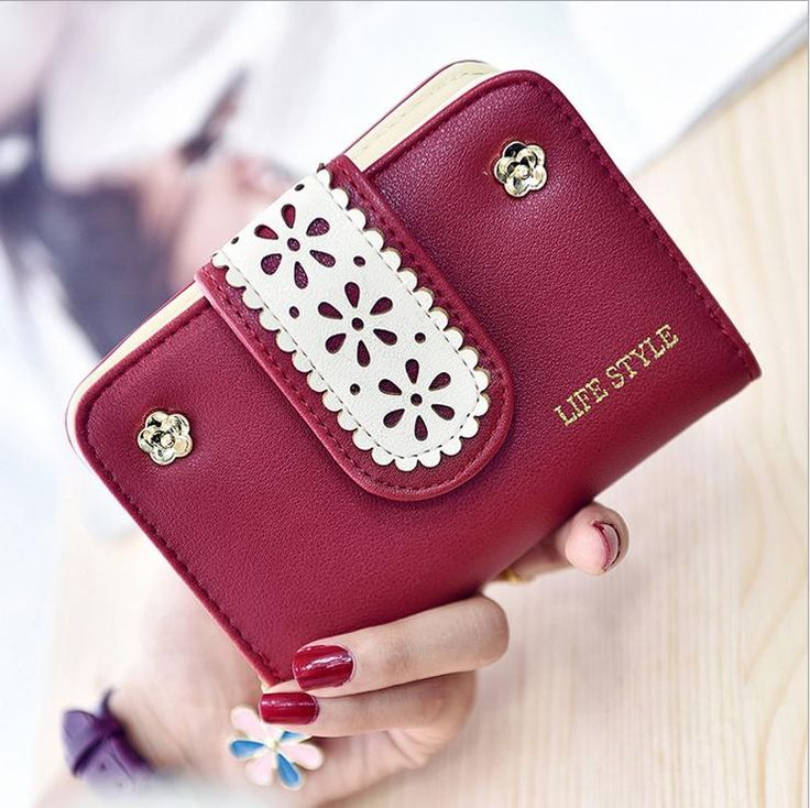 2017 New Style Wallet Women Luxury Brand Leather Ladies Purse Short For Girls Small Card Holder Money Wallets Fashion Wallets-in Wallets from Luggage & Bags on Aliexpress.com   Alibaba Group