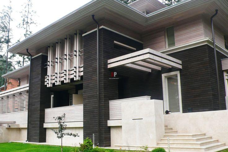 Дом в стиле Райта. Современная интерпретация