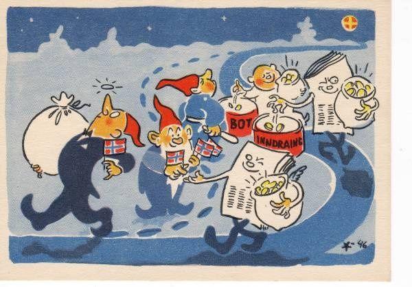 Arne Taraldsen. Postkort