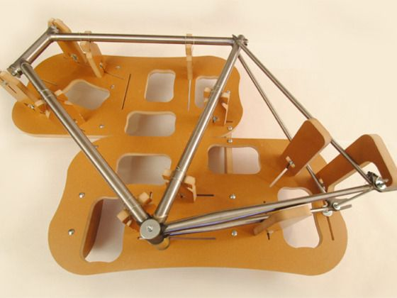 The Jiggernaut is an inexpensive frame building jig that can help anyone build a custom, high quality bicycle.
