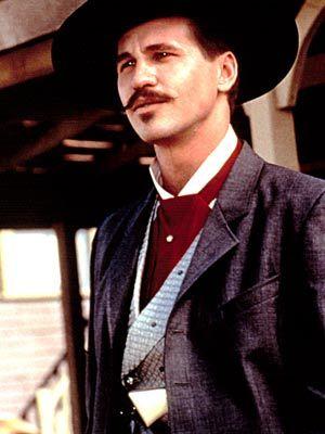 "Val Kilmer as ""John Henry 'Doc' Holliday""- Tombstone"