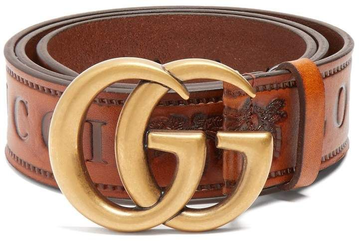 3284d3ce0 GUCCI GG-logo 4cm leather belt #gucci #ShopStyle #MyShopStyle click link  for more information