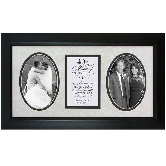 40th Anniversary Gift 40th Wedding By DaySpringMilestones On Etsy