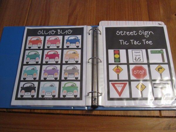 Road Trip Games and Printables