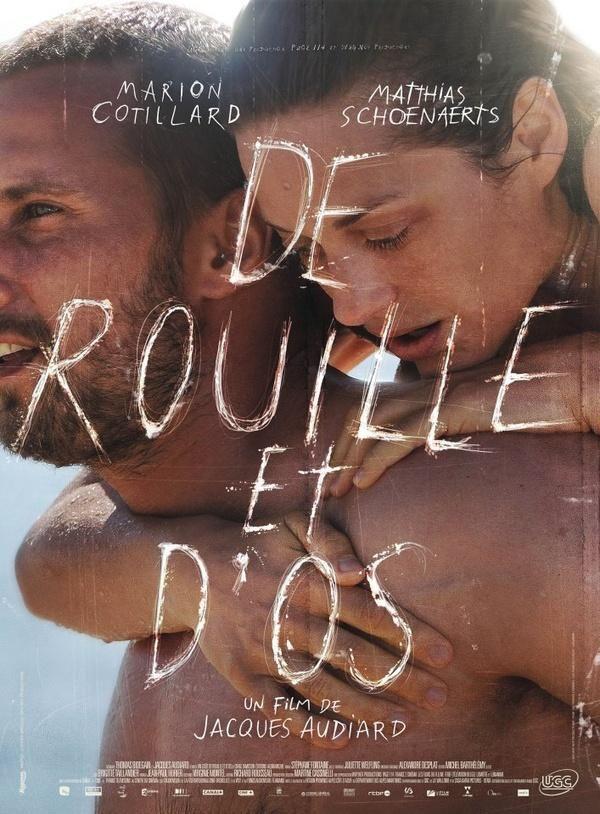 """#movie """"De óxido y hueso"""", de Audiard. Très bien. Es La Bella y la Bestia reloaded."""