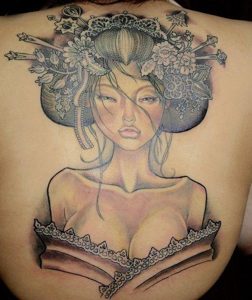 12 Best Geisha Tattoo Designs
