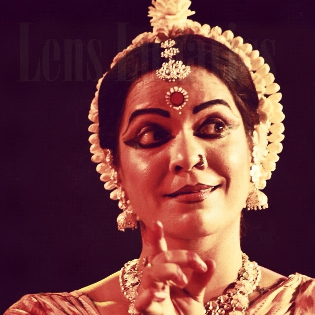 Take a look at the photo. She's a popular Odissi dancer. Do you know her?  http://discoverbhubaneswar.com/tourism/speaking-frames/emotive-eyes/