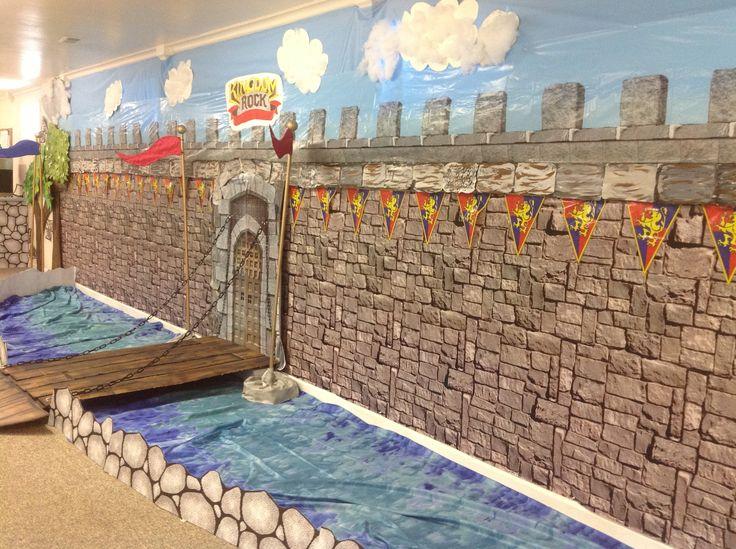 Halloween Classroom Decoration Ideas ~ Kingdom rock decoration kitchen wall vbs deco