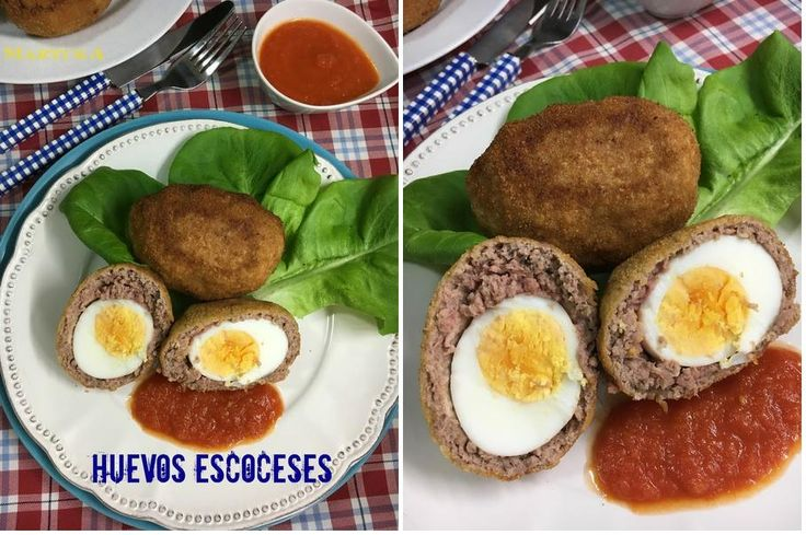 Huevos escoceses o a la escocesa